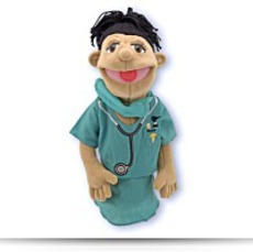 4 Pack Melissa And Doug Surgeon Puppet