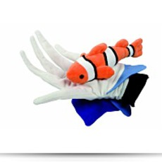 Beleduc Anemone And Fish Glove Puppet