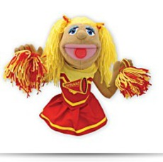 Buy Melissa And Doug Cheerleader Puppet