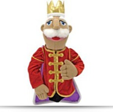 Buy Melissa And Doug King Puppet