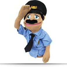 Buy Melissa And Doug Police Officer Puppet