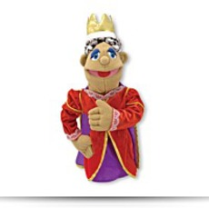 Buy Melissa And Doug Queen Puppet