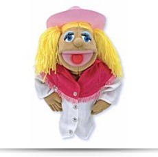 Melissa Doug Cowgirl Puppet