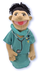 pack melissa doug surgeon puppet